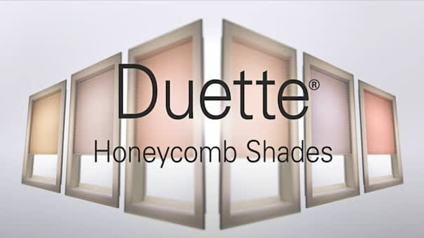 Duette® Honeycomb Shades Video Overlay
